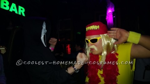 Old School Hulk Hogan Halloween Costume