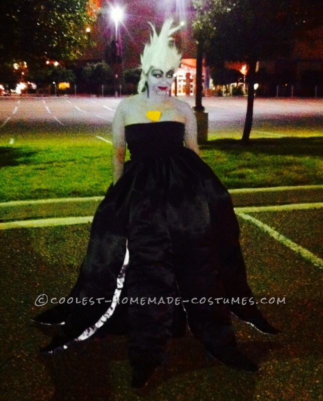 Cool DIY Ursula Costume