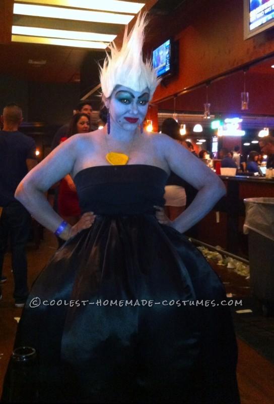 Cool DIY Ursula Costume - 2