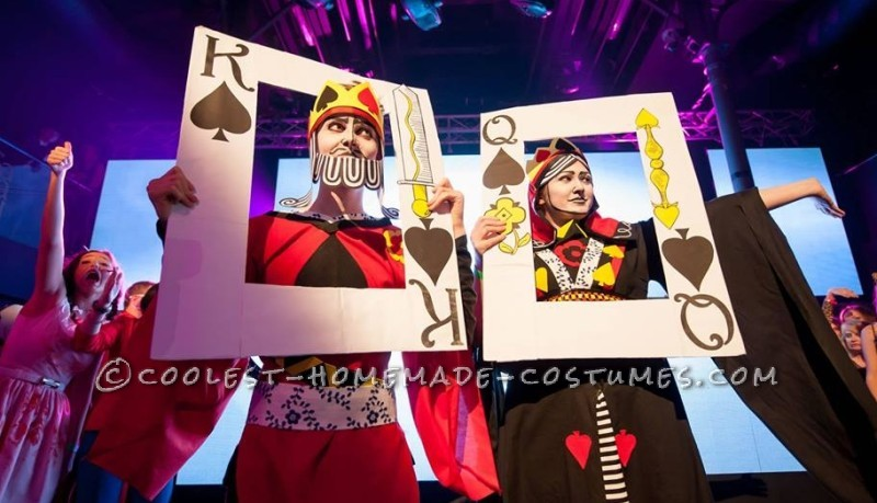 A Royal Pair: King of Spades and the Black Maria Couple Costume - 5