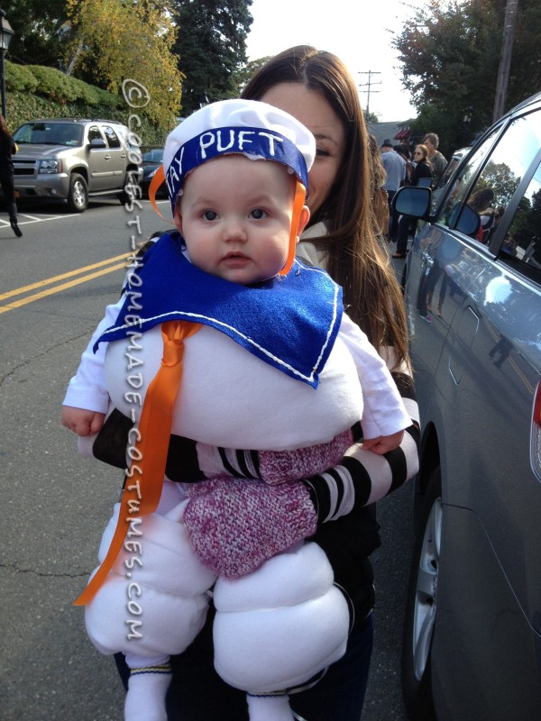 Sweet Little Marshmallow Man Baby Costume