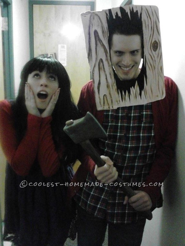 "A ""Shining"" Couple Halloween Costume: Jack and Wendy Torrance"