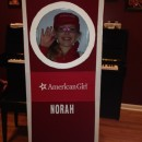 Cool Homemade American Girl Doll-in-a-Box Costume