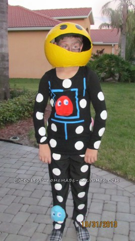 Inexpensive Homemade Pac Man Costume