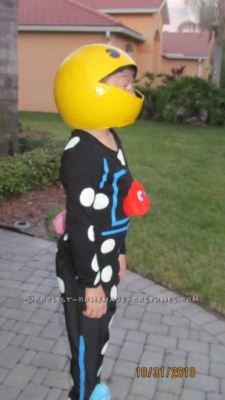 Inexpensive Homemade Pac Man Costume - 2