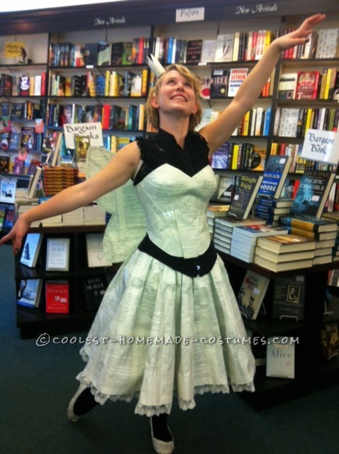 The Book Fairy in her natural environment