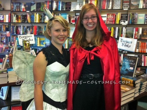 Red Riding Hood and I at Annie Bloom's Books