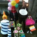 "Original Family Costume Idea: ""Party of Five"""