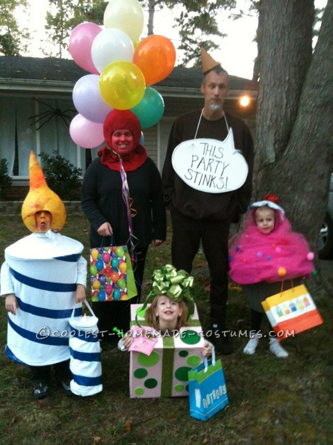 Original Family Costume Idea: