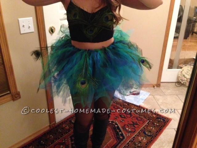 Cool Peacock Tutu and Costume