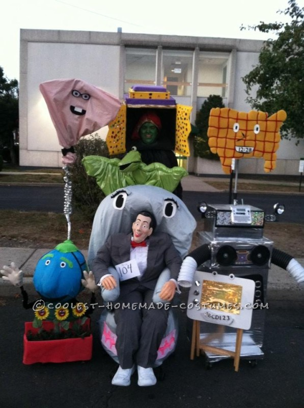 Pee Wee's Playhouse Solo Group Costume