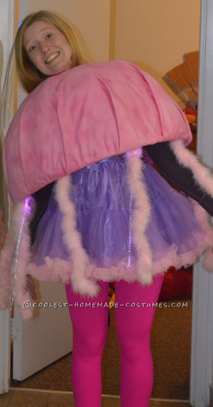 Perfectly Pink and Purple Jellyfish Costume