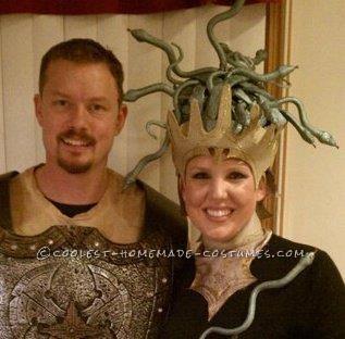Perseus and Medusa Couple Halloween Costume