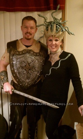 Perseus and Medusa Couple Halloween Costume