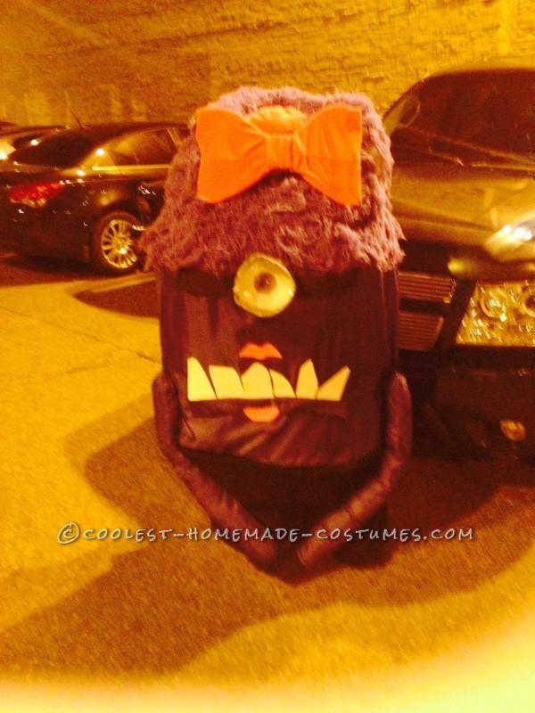 Homemade Girly Purple Minion Costume - 2