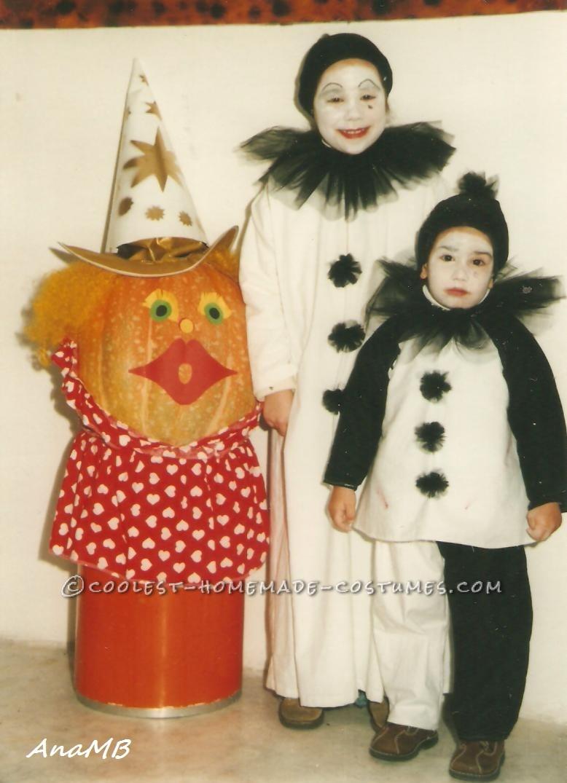 DIY Sad Clown (Pierrot) Costumes