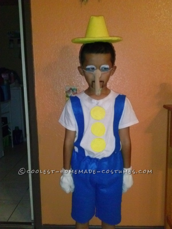 Pinocchio from Shrek Costume