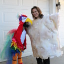 Cool Mom and Daughter Couple Halloween Costume: Polly Wants A Cracker!