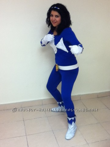 Cool DIY Woman's Power Ranger Costume