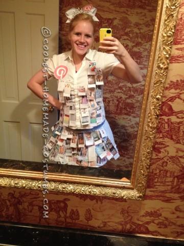 Pretty DIY Pinterest Princess Costume