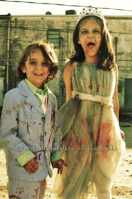 Prom Night Gone Bad Zombie Family Costume - 3