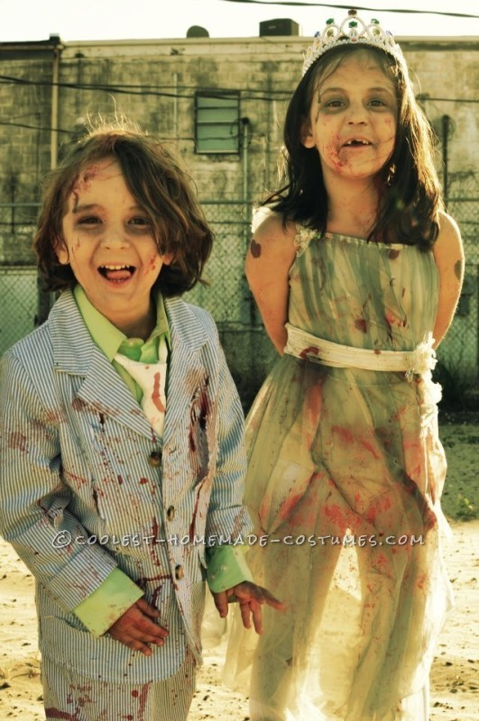 Prom Night Gone Bad Zombie Family Costume - 5