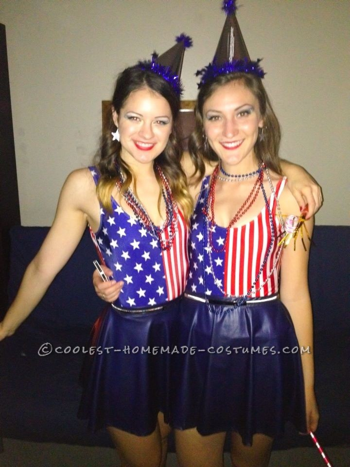 """Punny """"Party in the U.S.A"""" Couple Costume"""