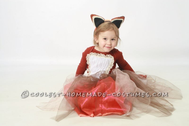 Creative Queen of the Woodland Creatures Costume for a Girl - 4