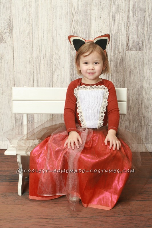 Creative Queen of the Woodland Creatures Costume for a Girl