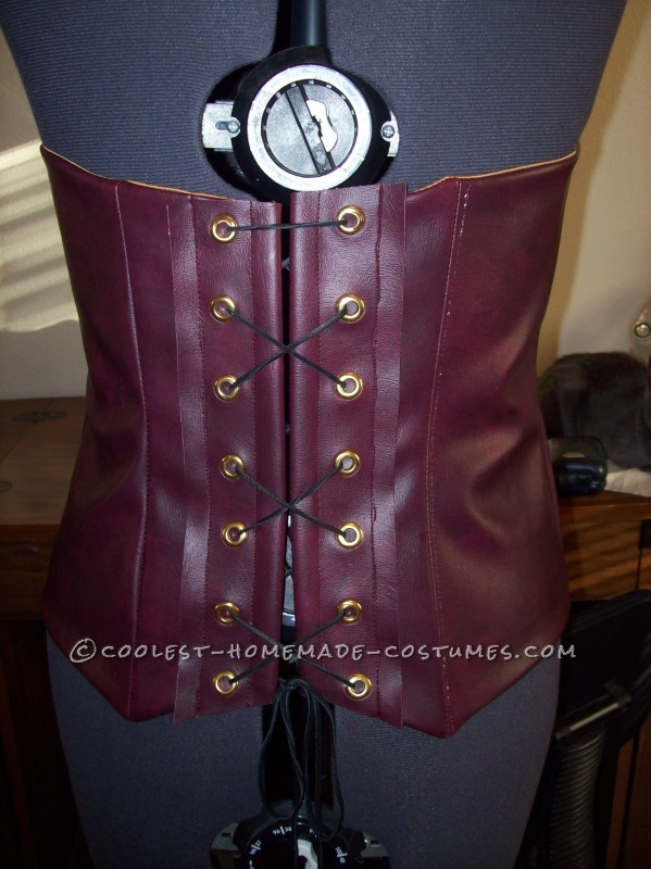 Finished Corset Back
