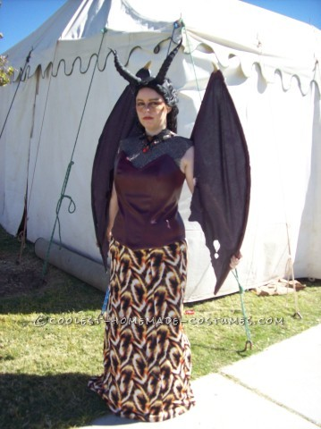 Beautiful Handmade Queen Smaug the Magnificent Costume