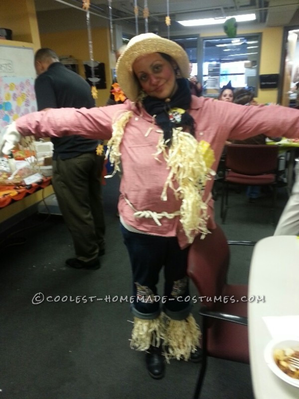 Quick, Cute and Comfy Scarecrow Costume
