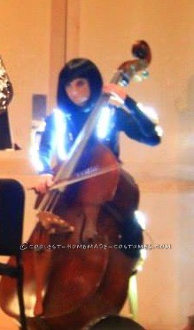 Glowing Quorra from Tron Costume (Orchestra Style) - 2