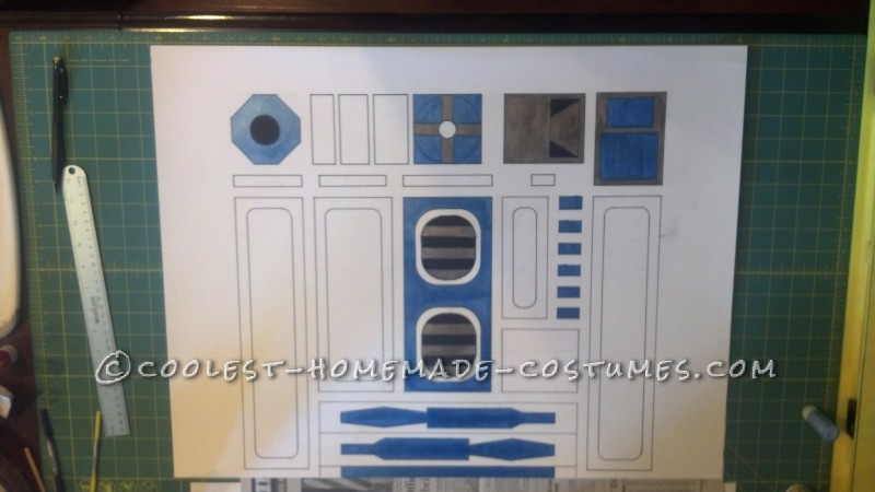 Cool R2-D2 Costume for a Boy - 3