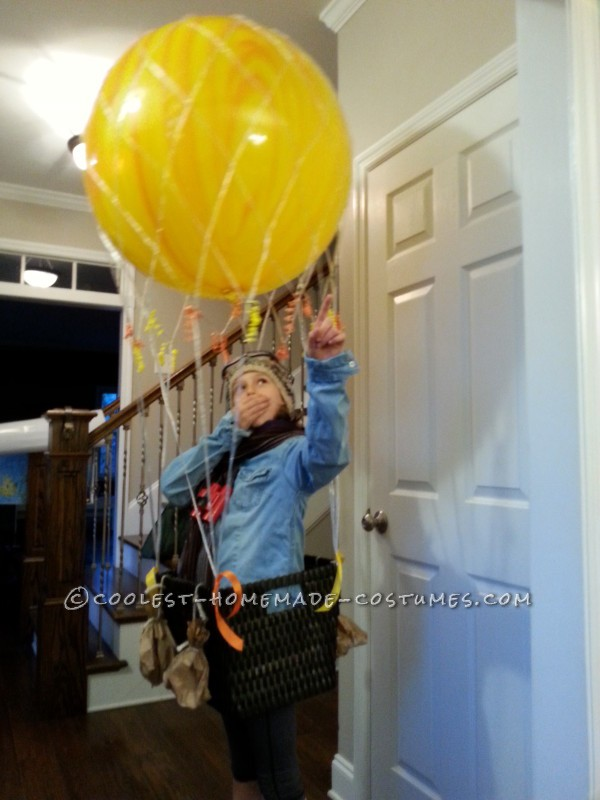 Cool Homemade Hot Air Balloon Costume: Ready for Liftoff - 1