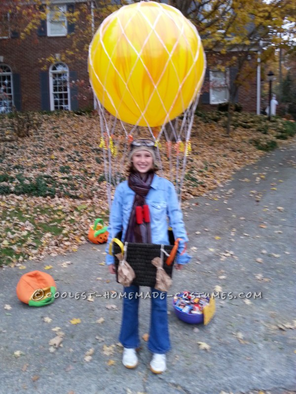 Cool Homemade Hot Air Balloon Costume: Ready for Liftoff - 2
