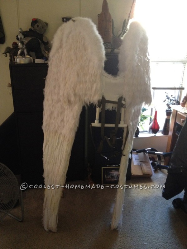 finished final version wings showing backpack straps!