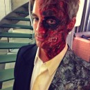Realistic Homemade Two Face Costume