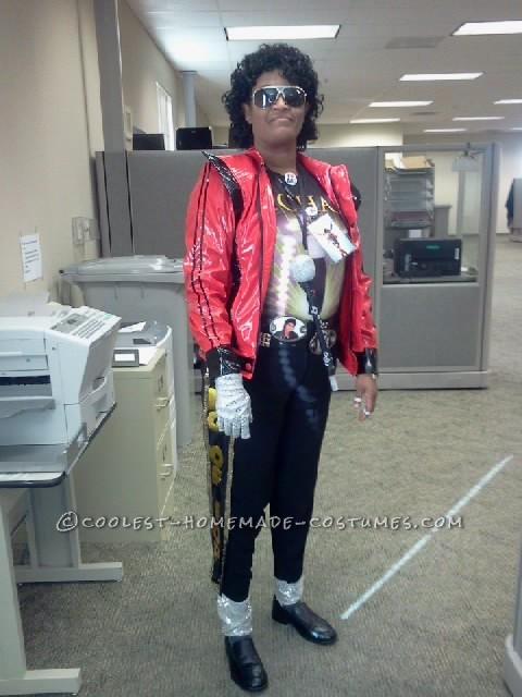 Cool Homemade Michael Jackson Costume