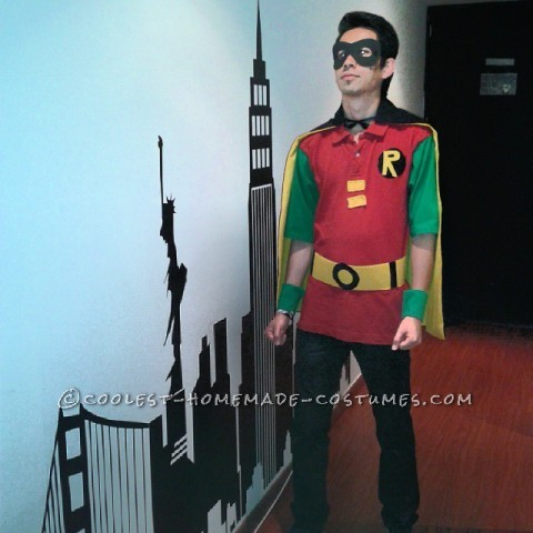 Easy Last-Minute Robin Costume