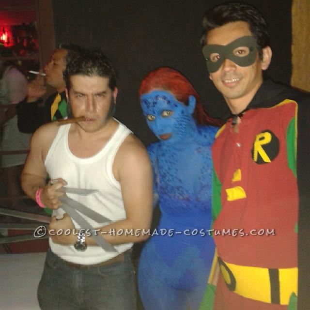 Easy Last-Minute Robin Costume