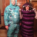 Boo and Sully Couple Costume