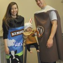 Cool Family Halloween Costume Idea: Root Beer Float