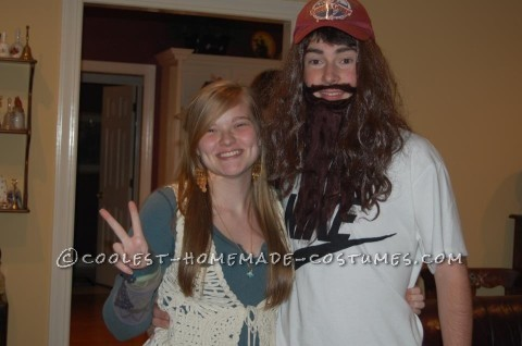 Cool Last-Minute Couple Halloween Costume: Runnin' Forrest and His Girl Jen-nay