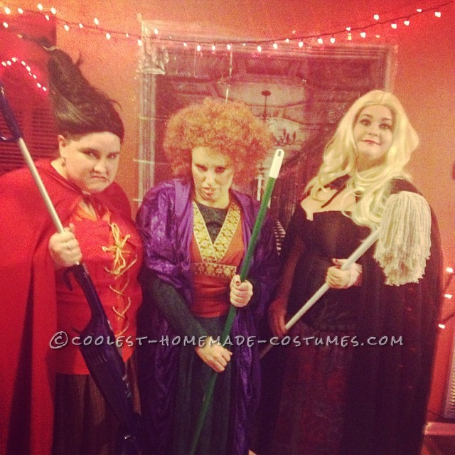 Sanderson Sisters Hocus Pocus DIY Girl Group Costume