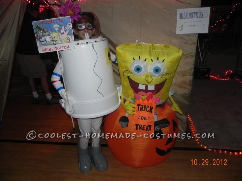 Coolest Sandy Cheeks Costume from SpongeBob Squarepants - 2