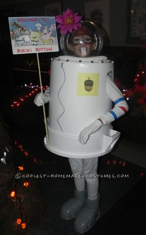 Coolest Sandy Cheeks Costume from SpongeBob Squarepants