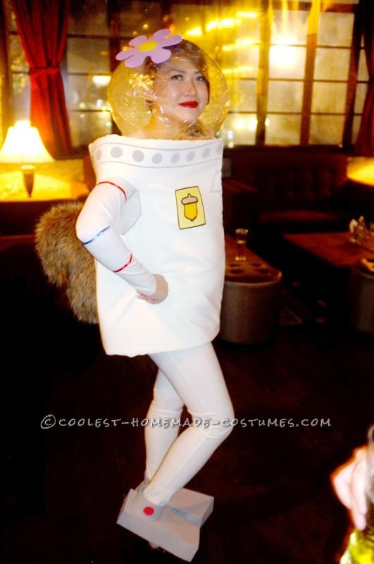 Awesome Homemade Sandy Cheeks Costume