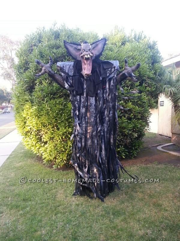 "10-Foot ""Screech"" Bat Halloween Costume on Stilts"