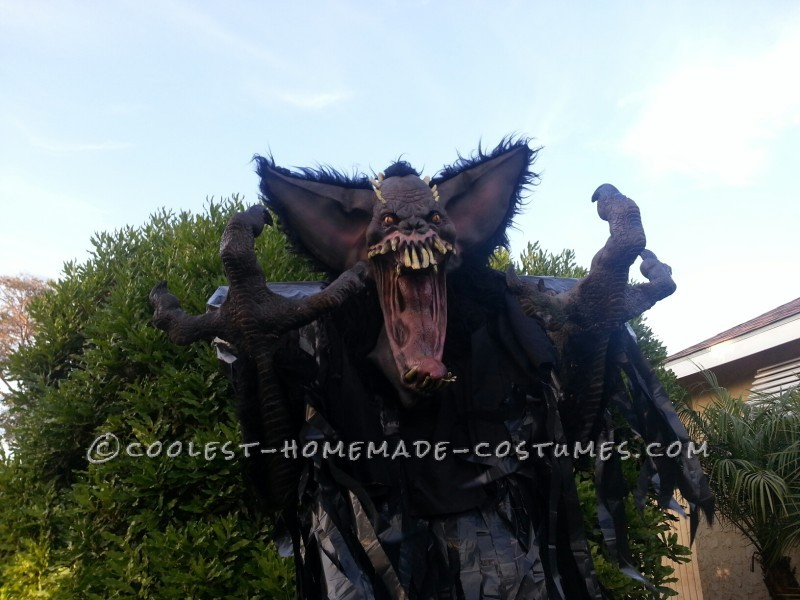 "10-Foot ""Screech"" Bat Halloween Costume on Stilts - 1"